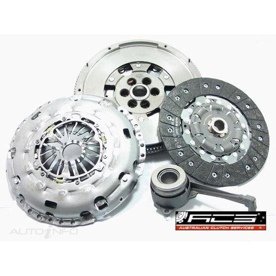 C/KIT AUD VW SKO 2.0L TBO 04> 240MM LUK INC DMASS & CSC CYL