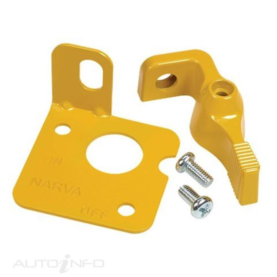 SWITCH YELLOW LEVER LOCKOUT, , scanz_hi-res