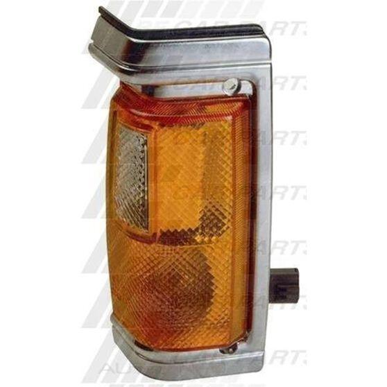 CORNER LAMP - R/H - CHROME TRIM