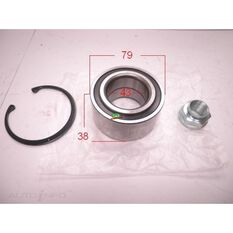 Honda Civic, HRV, Front wheel bearing kit, , scanz_hi-res
