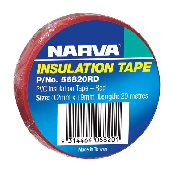 TAPE PVC RED GLOSS