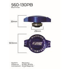 CPC MUSCLE CAP 130KPA BLUE