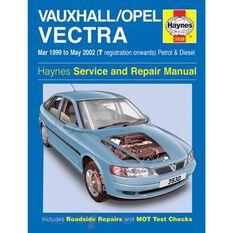 VAUXHALL/OPEL VECTRA PETROL & DIESEL (1999 - 2002), , scanz_hi-res