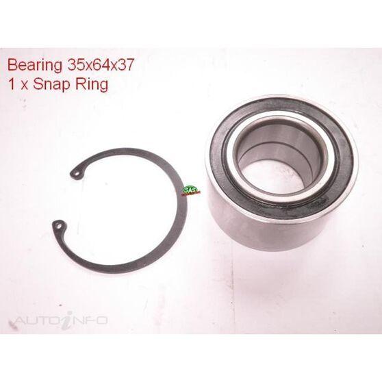 Toyota Boon Front wheel bearing kit, , scanz_hi-res