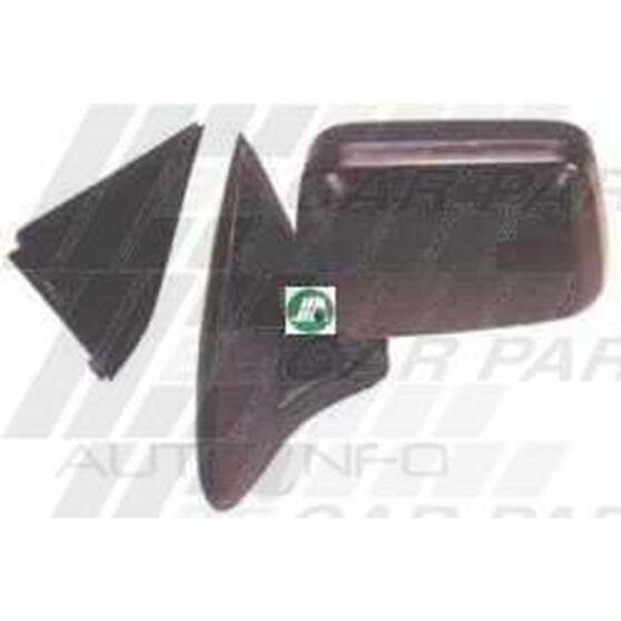 DOOR MIRROR - L/H - BLACK - CNR MOUNT, , scanz_hi-res