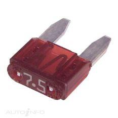 FUSE MINI 7.5AMP PK50