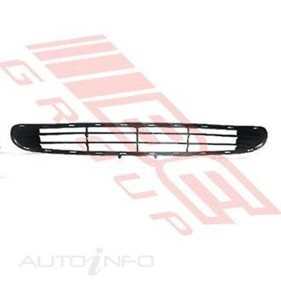GRILLE - MAT/BLACK - FOR BUMPER, , scanz_hi-res