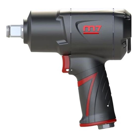 """M7 AIR IMPACT WRENCH 3/4"""" DRIVE TWIN HAMMER QUIET 1400FT, , scanz_hi-res"""