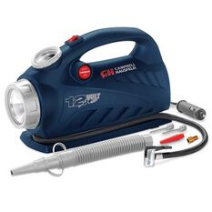 CAMPBELL HAUSFELD INFLATOR 12V WITH LIGHT 150PSI RAFT NOZZLE, , scanz_hi-res