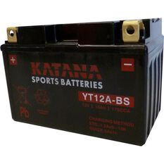 YT12A-BS Katana Motorcycle Battery, , scanz_hi-res