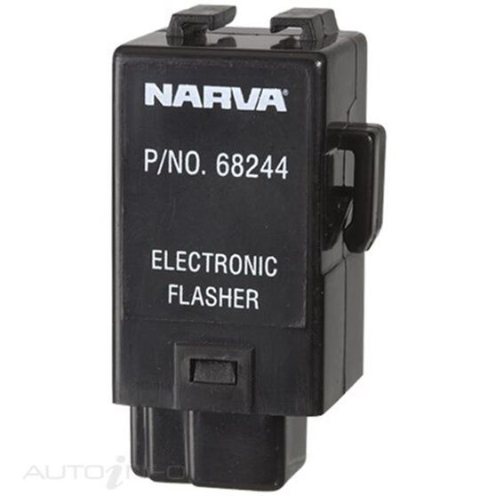 FLASHER ELEC 12V 3 PIN 4MM, , scanz_hi-res