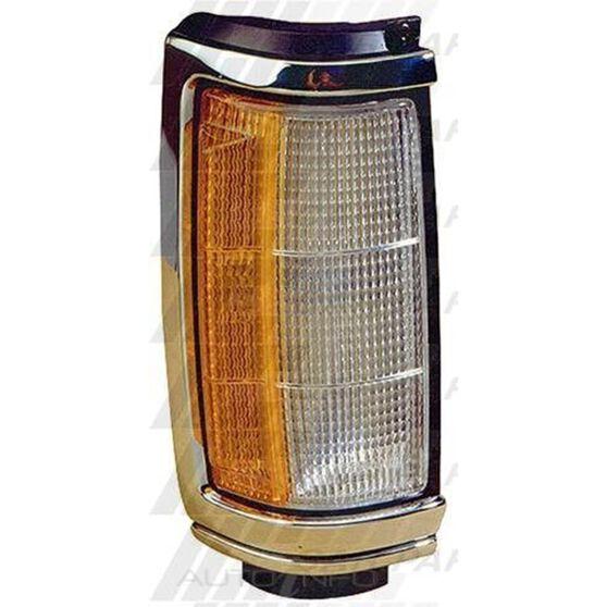 CORNER LAMP - R/H - CHROME/BLACK
