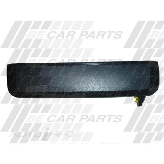 DOOR HANDLE - FRONT/REAR OUTER - BLK - R/H, , scanz_hi-res