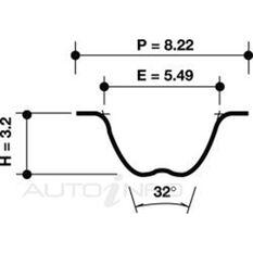 T/BELT BMW 3 SER 5 SER E28 E30 127*25, , scanz_hi-res