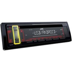 JVC SINGLE DIN CD USB RECEIVER, , scanz_hi-res