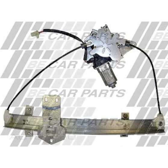 REGULATOR - L/H  FRT - ELECTRIC W/MOTOR