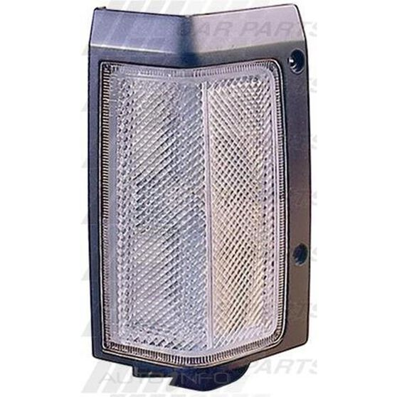 CORNER LAMP - L/H  CLR/BLK - NARROW, , scanz_hi-res