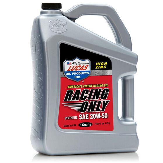 SAE 20W50 SYNTHETIC RACING OIL - 4.73L