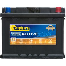 DIN55LAGM Century AGM Battery, , scanz_hi-res