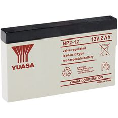 NP2-12 Yuasa NP VRLA Battery