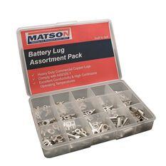 MATSON BATTTERY LUG PACK ASSORT QTY 150, , scanz_hi-res