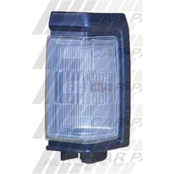 CORNER LAMP - L/H -  GREY TRIM