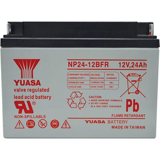 NP24-12BFR Yuasa NP VRLA Battery, , scanz_hi-res