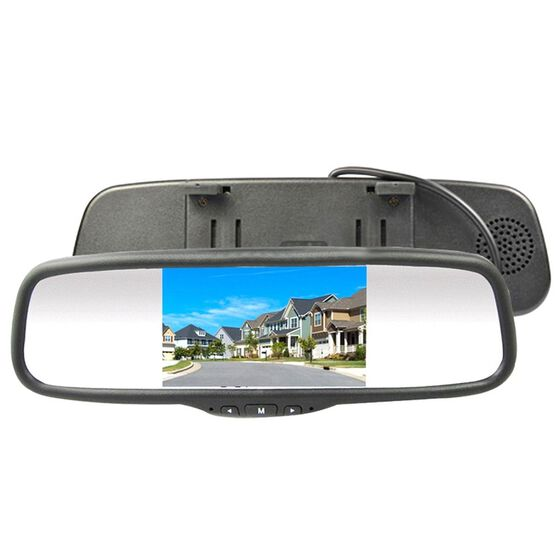 """AVS 5"""" CLIP ON REAR VIEW MIRROR RCA LCD MONITOR UNIVERSAL, , scanz_hi-res"""
