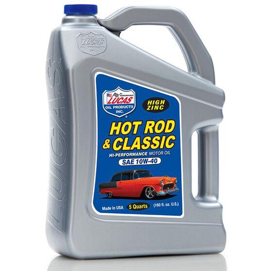 SAE 10W40 HOT ROD & CLASSIC MOTOR OIL -
