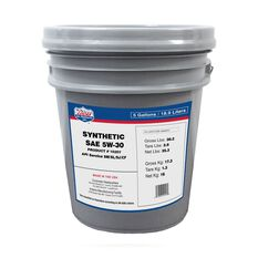 SAE 5W30 SYNTHETIC MOTOR OIL - 18.9L, , scanz_hi-res