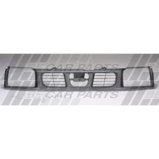 GRILLE - PAINTED SILVER GREY