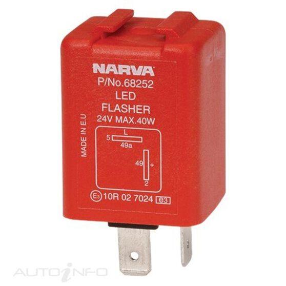 FLASHER ELEC 24V 2 PIN LED, , scanz_hi-res