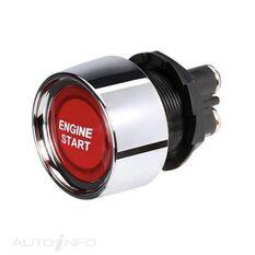 SWITCH START LED RED 12V 50A, , scanz_hi-res