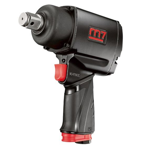 """M7 AIR IMPACT WRENCH 3/4"""" DRIVE TWIN HAMMER QUIET 1200FT, , scanz_hi-res"""