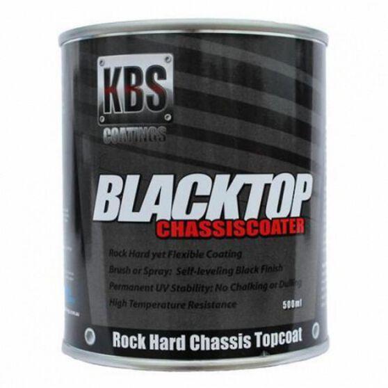 KBS BLACKTOP PERMANENT UV TOP COAT GLOSS BLACK 500ML, , scanz_hi-res