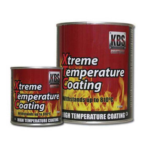 KBS XTC XTREME TEMP COATING SATIN BLACK 1 LITRE, , scanz_hi-res