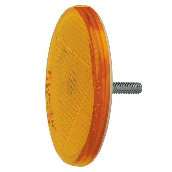 REFLECTOR AMBER 65mm FIX BOLT, , scanz_hi-res