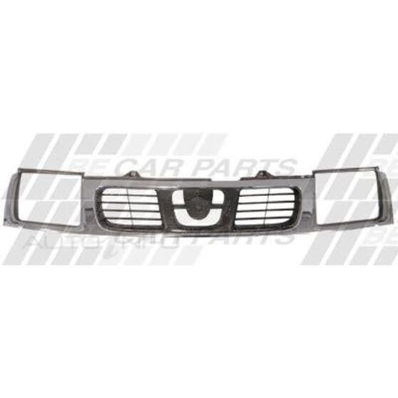 GRILLE - CHROME/SILVER GREY