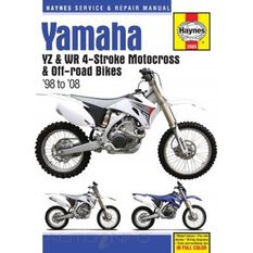 YAMAHA YZ & WR 4-STROKE MOTOCROSS BIKES, , scanz_hi-res