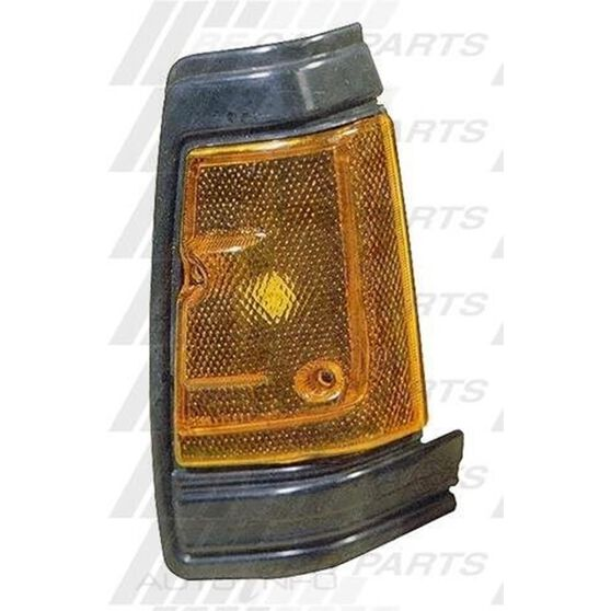 CORNER LAMP - R/H - BLACK