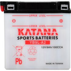 YB9L-A2 Katana Motorcycle Battery