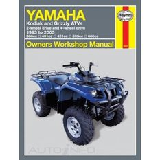 YAMAHA KODIAK AND GRIZZLY ATVS 1993 - 20, , scanz_hi-res