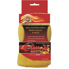 MOTHERS GOLD MICROFIBER CLOTH - 3 PACK, , scanz_hi-res