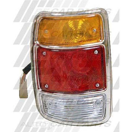 REAR LAMP - L/H - CHROME RIM