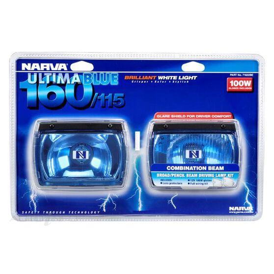 D/LAMP BLUE COMB KIT 160/155