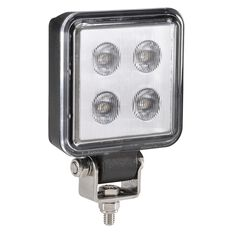 W/LAMP 9-32V LED 70MM SQUARE 600LM, , scanz_hi-res