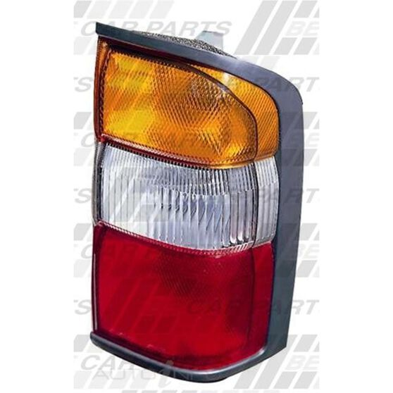 REAR LAMP - R/H - AMBER/CLR/RED