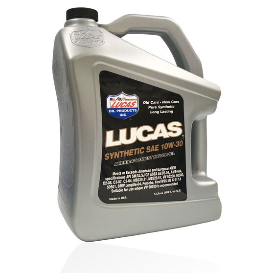 SAE 10W30 SYNTHETIC MOTOR OIL - 5L