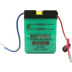 6N2-2A Katana Motorcycle Battery