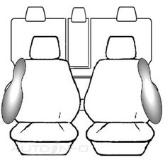 VOLKSWAGEN TIGUAN 5NC MY14 WAGON - 118TSI / 132TSI PACIFIC / 103TDI PACIFIC (08/2013 - ON) DEPLOY SAFE BLACK, , scanz_hi-res
